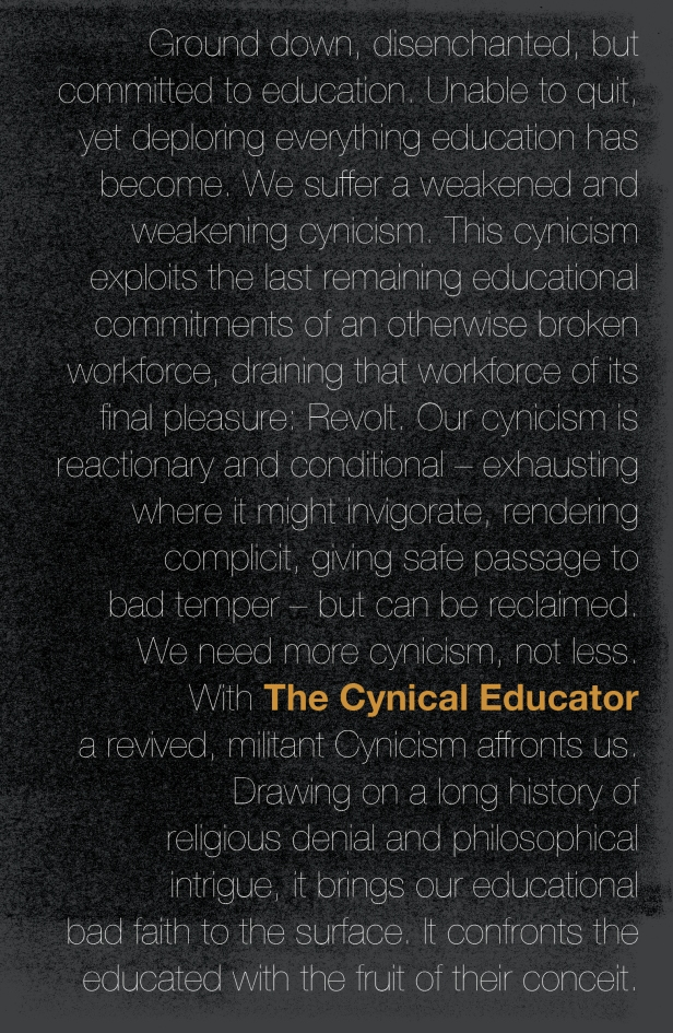 The Cynical Educator Ansgar Allen