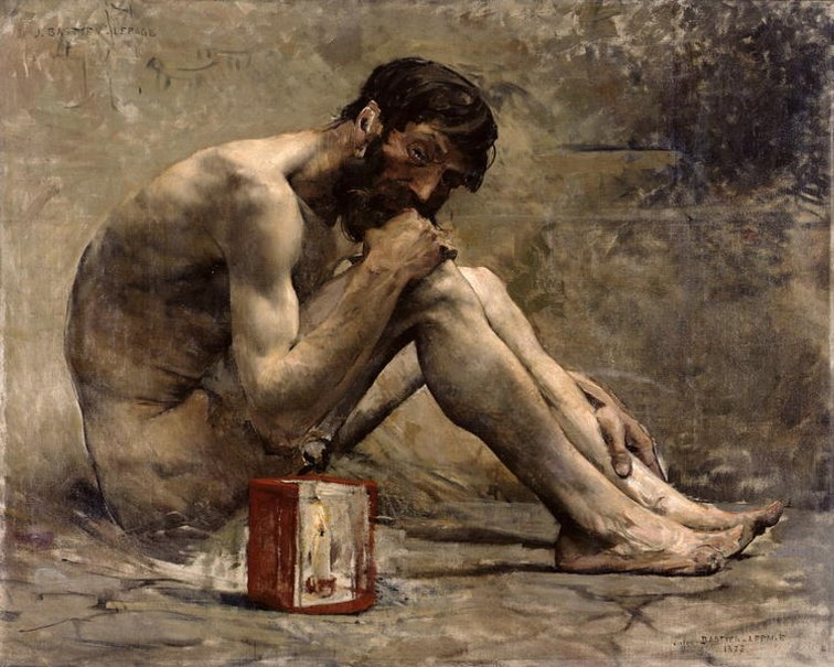 Diogenes 1873 Jules Bastien-Lepage